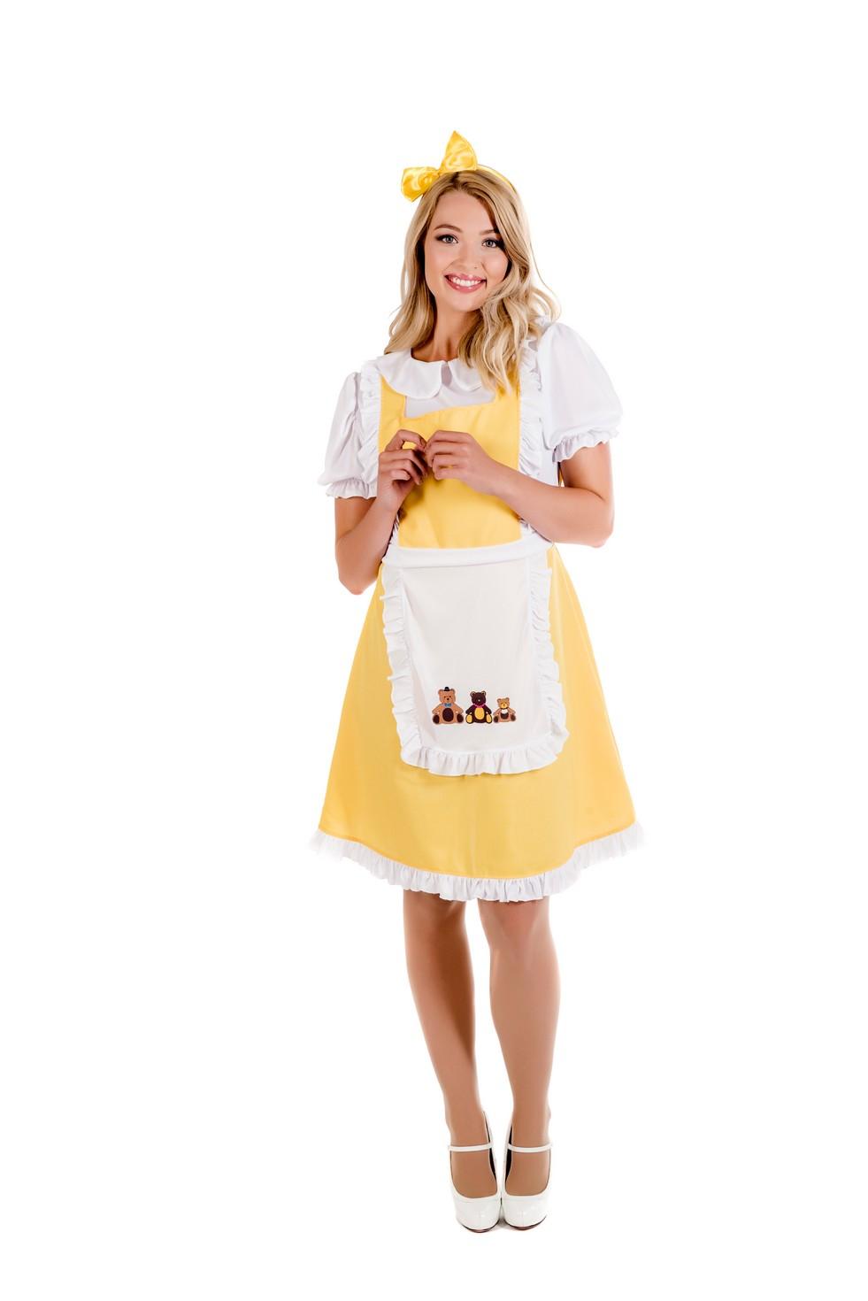 Womens Goldilocks Costume S L Las