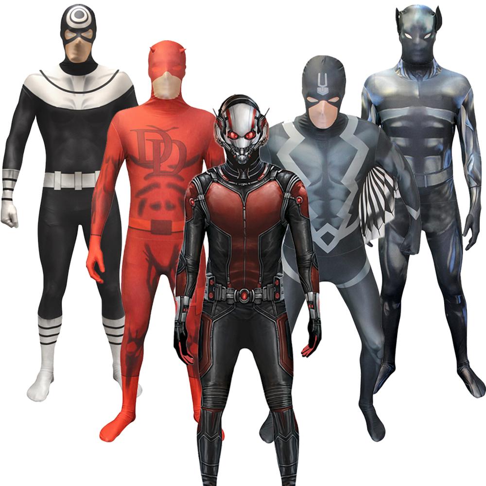 marvel superheroes morphsuit ant man black bolt bullseye superhero