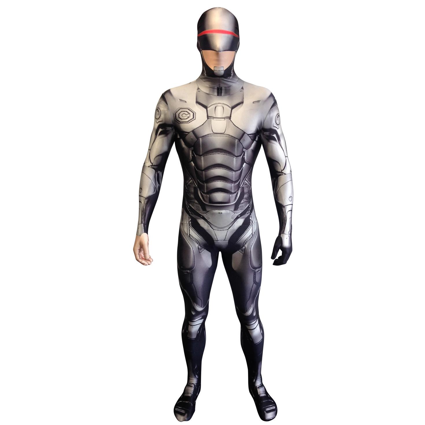 Sale Morphsuit Robocop Fancy Dress Costume Great For Festival