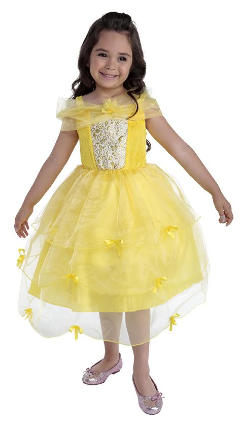 71d448e5708e4 Details about Girls Storybook Forest Deluxe Princess Fancy Dress Costume  Halloween Book Week