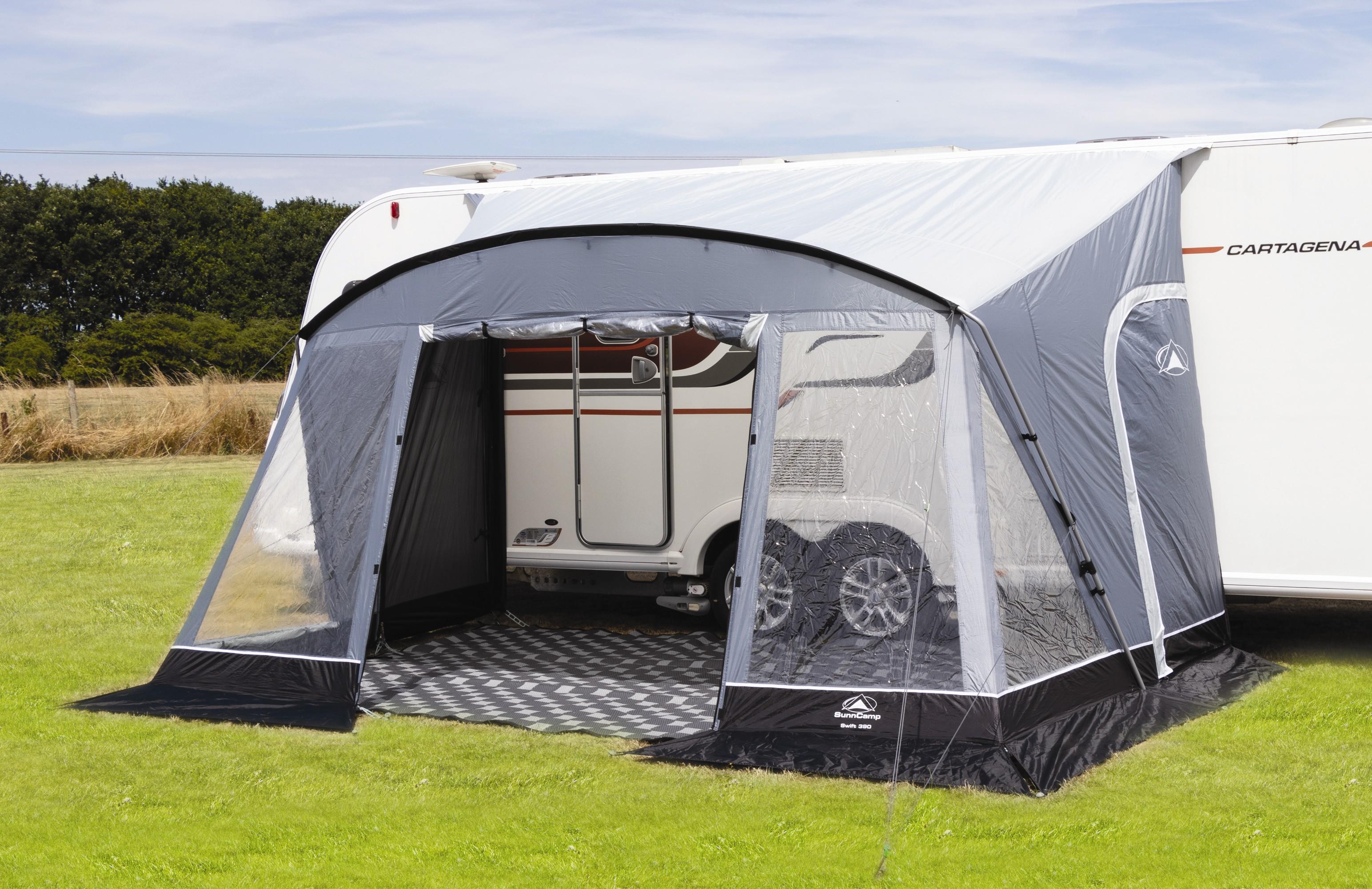2019 Sunncamp Swift 390 Deluxe Lightweight Caravan Porch ...