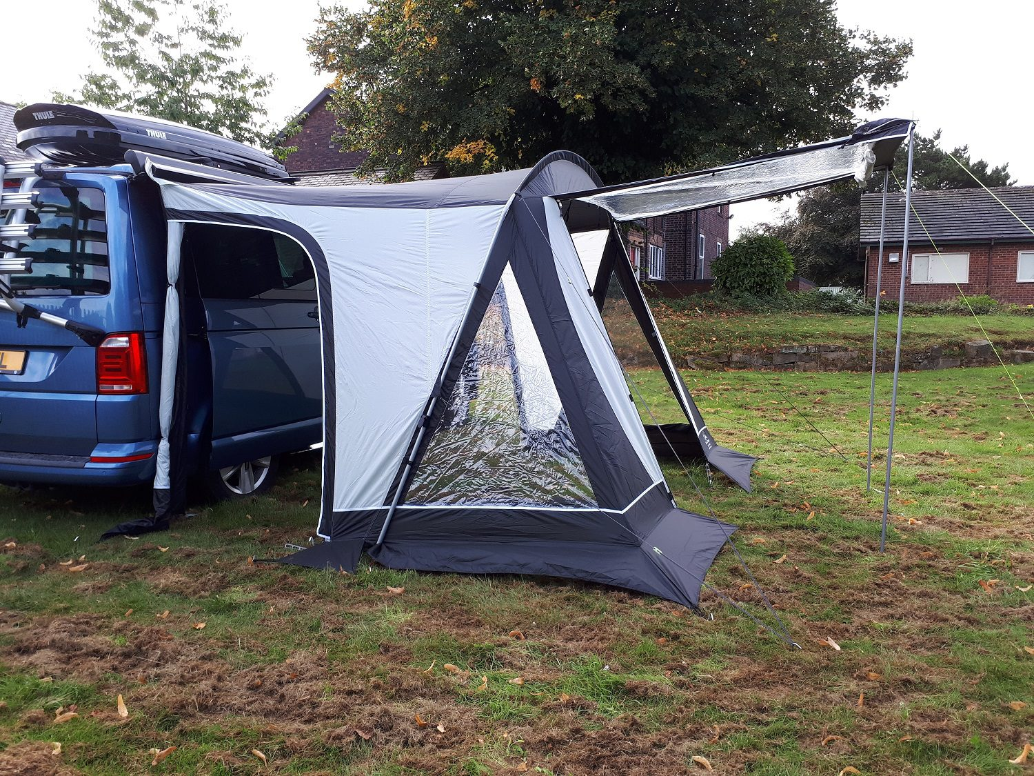 SunnCamp Swift Verao 260 Low (185-200cm) Campervan Awning ...