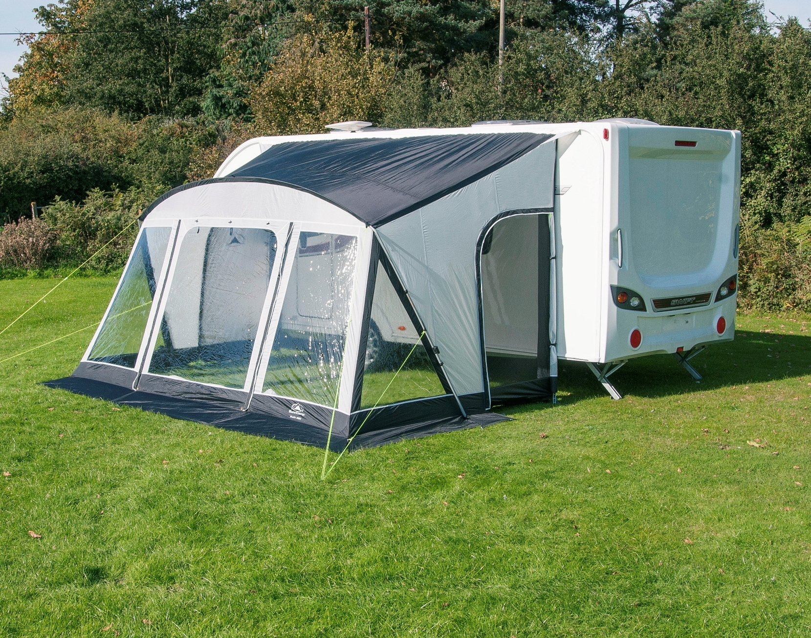Sunncamp Swift 390 Deluxe Lightweight Caravan Porch Awning