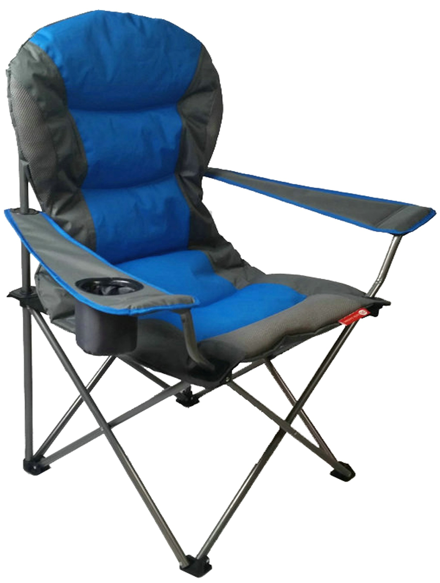 CPL Tahiti pact Folding Padded Camping Chair with Cup Holder