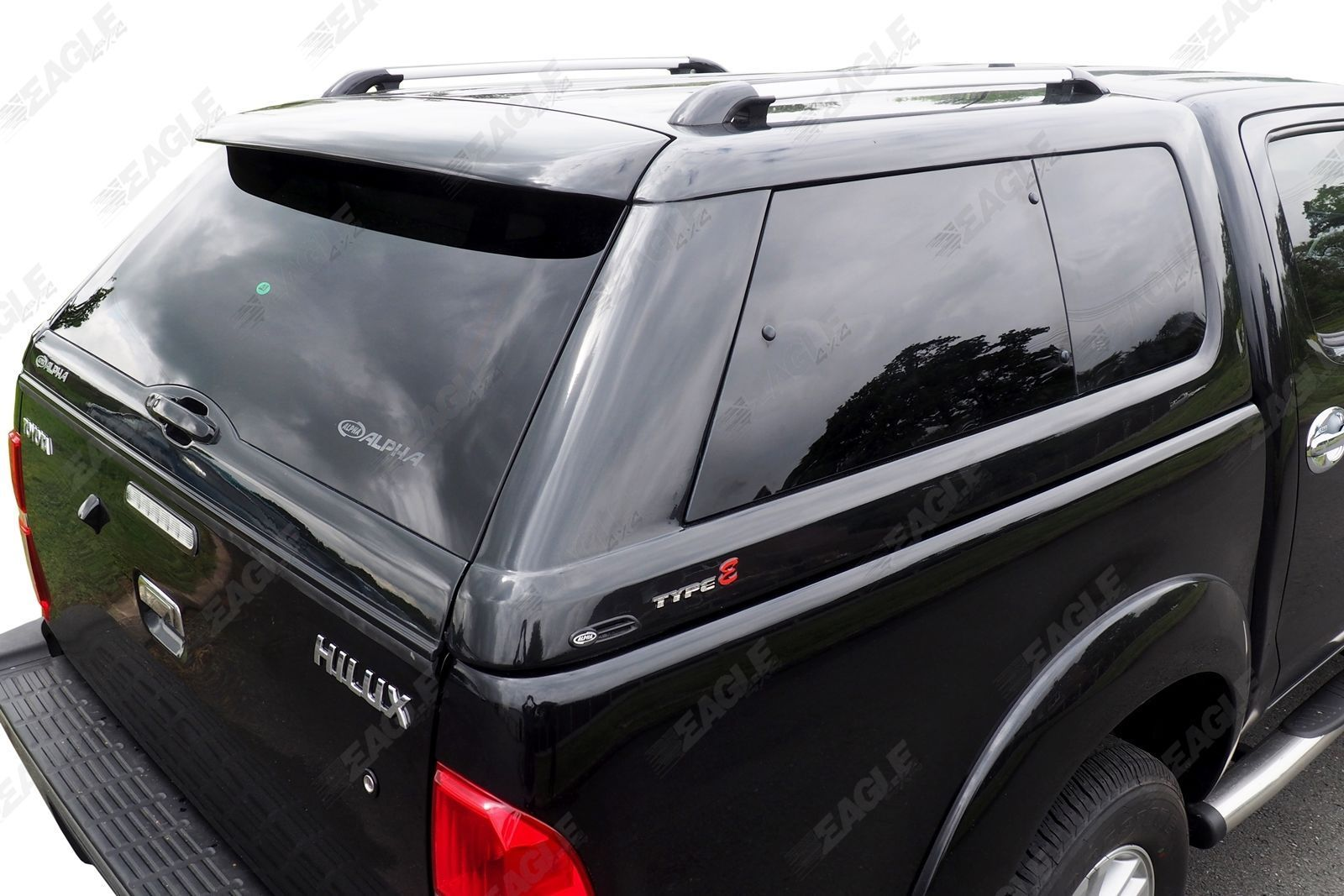 Sentinel Toyota Hilux Hardtop Canopy - Alpha Type E - Hard Top with Central Locking & Toyota Hilux Hardtop Canopy - Alpha Type E - Hard Top with Central ...