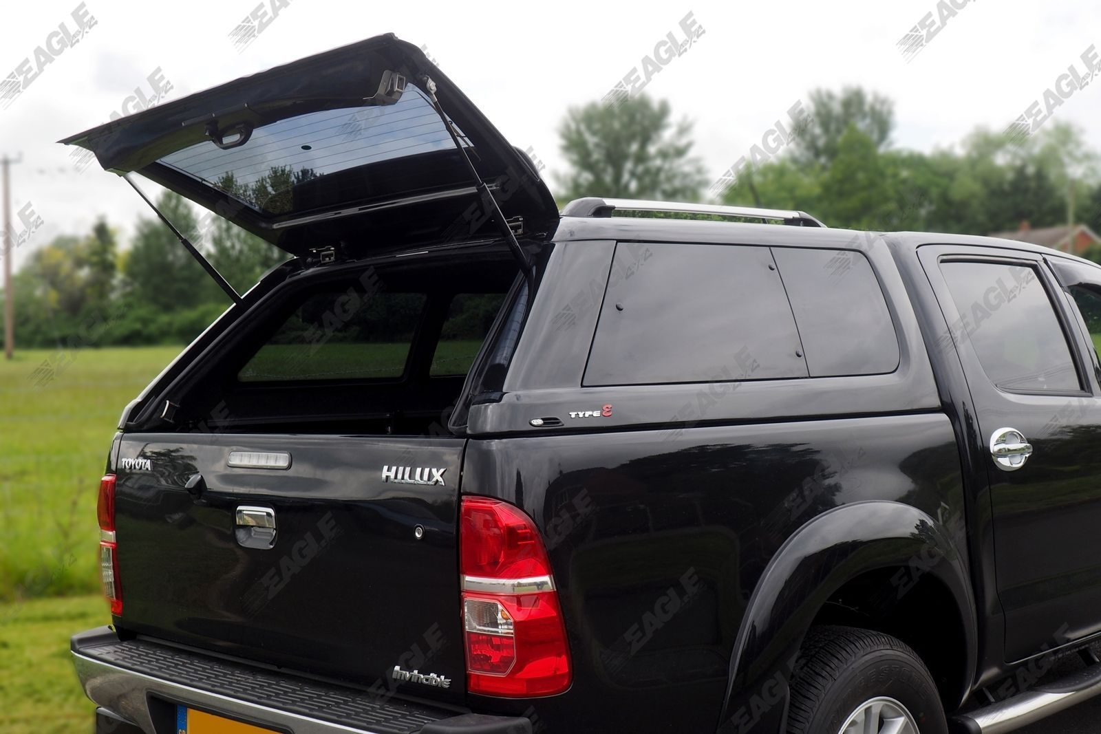 Sentinel Toyota Hilux Hardtop Canopy