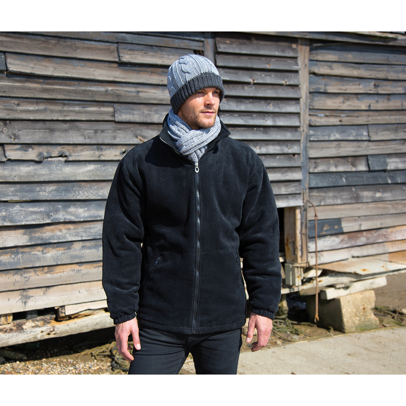 6e5c25751 Details about Result Core Polartherm Winter Cold Weather Fleece Jacket Mens  Outdoor Coat New