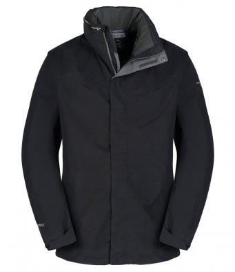 Craghoppers-Mens-Expert-Kiwi-GORE-TEX-Jacket-Waterproof-Hiking-Long-Coat-Black thumbnail 4