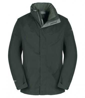 Craghoppers-Mens-Expert-Kiwi-GORE-TEX-Jacket-Waterproof-Hiking-Long-Coat-Black thumbnail 8