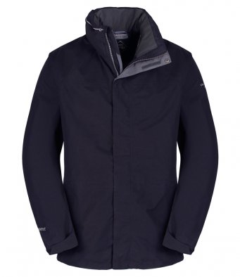 Craghoppers-Mens-Expert-Kiwi-GORE-TEX-Jacket-Waterproof-Hiking-Long-Coat-Black thumbnail 13