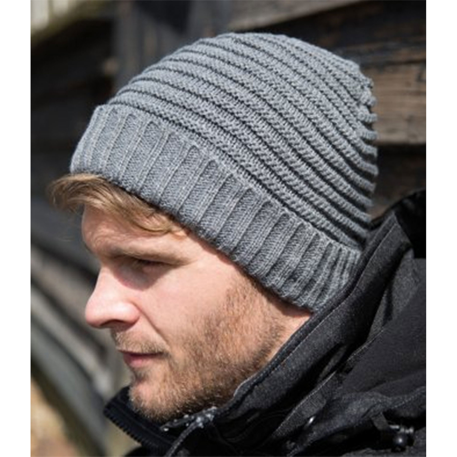 cf6f3ab2 Sentinel Thumbnail 1. Sentinel Result Braided Fleece Lined Hat Unisex  Winters Essentials Stylish Beanie Cap
