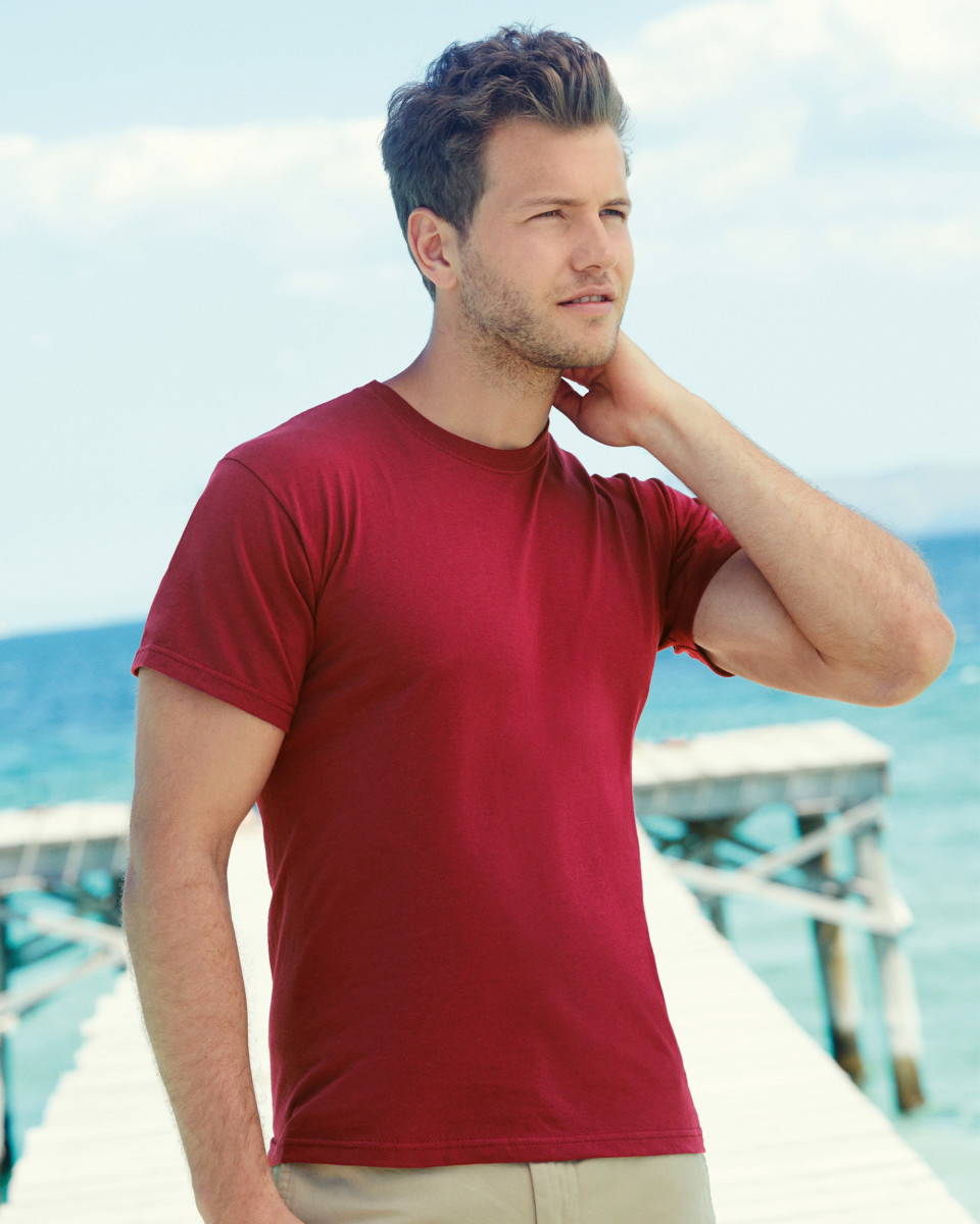 fa8dd52395 Sentinel 3 x Fruit of the Loom MEN'S T-SHIRT PLAIN COTTON T-SHIRTS SIZES