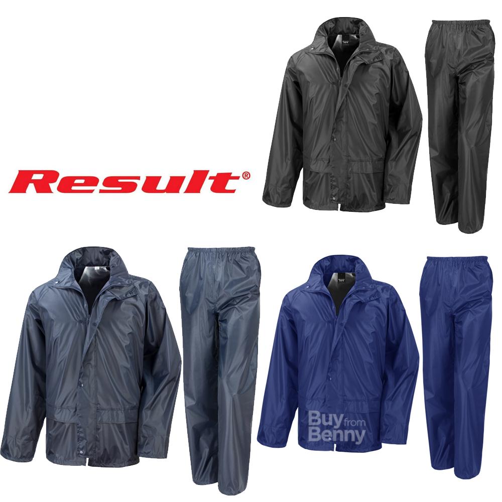 Unisexe Result Core Midweight Jacket Coat windproof waterproof Lined