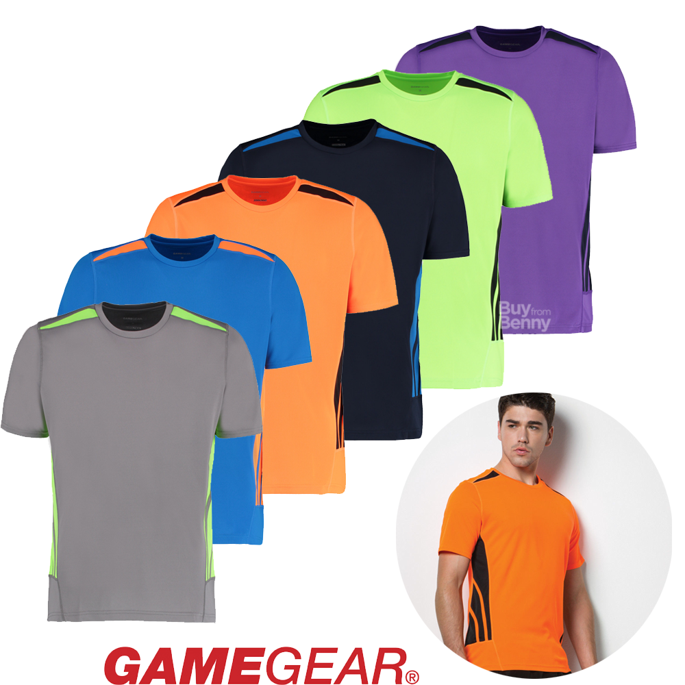 Running T ShirtGym Training T ShirtCool Performance Wicking