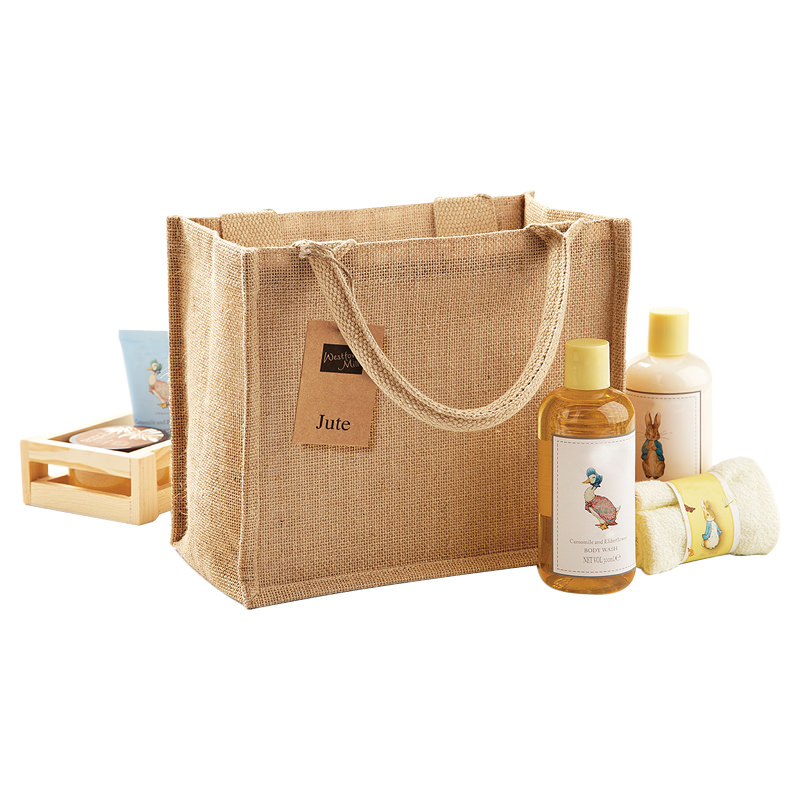 97305289514 Details about Westford Mill Jute Mini Gift Bag High Quality Shopping Travel  Eco Grocery Bags