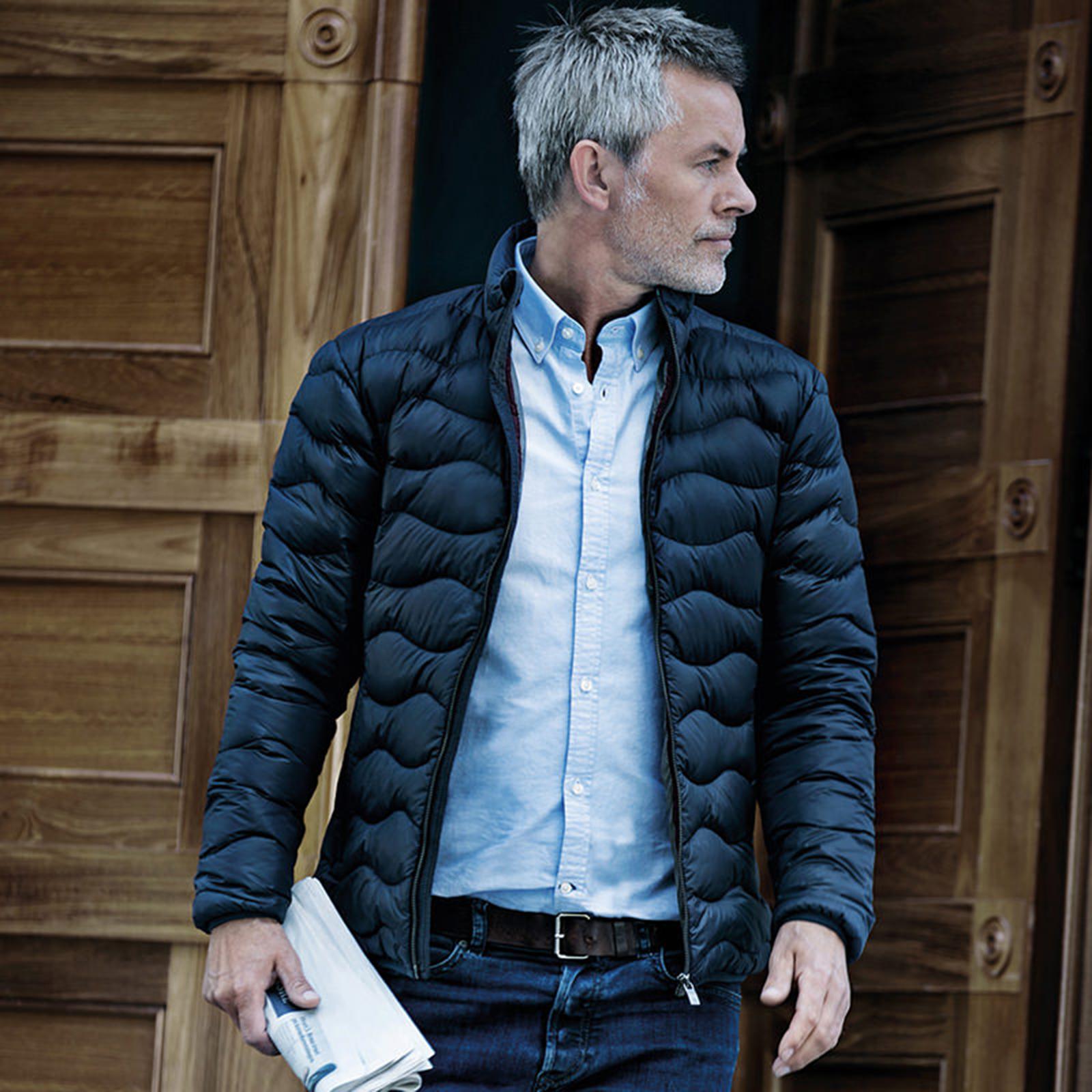 cappotto uomo in piuma