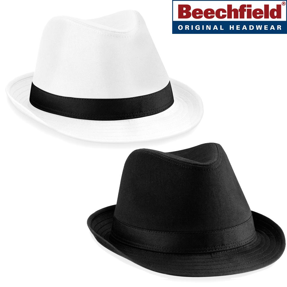 Beechfield Fedora Mens Hat