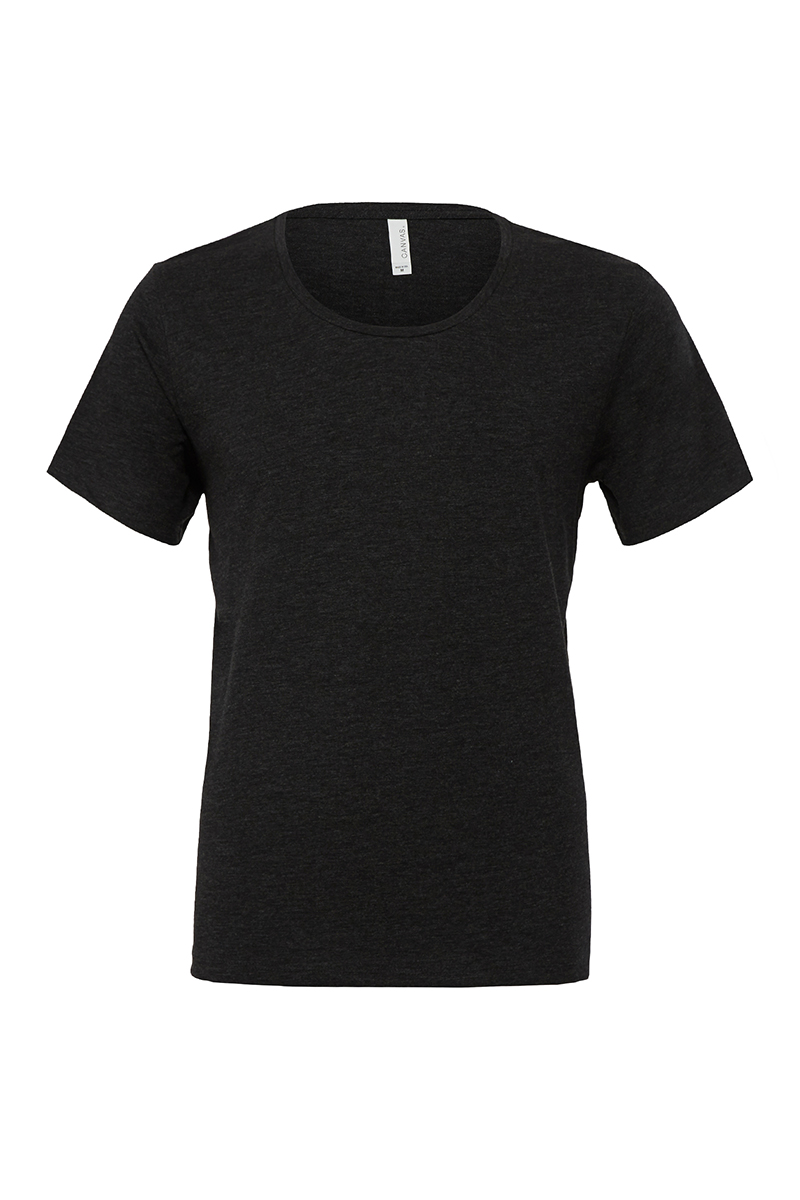 Bella Canvas Be117 Mens Short Sleeves Wide Neck T Shirt
