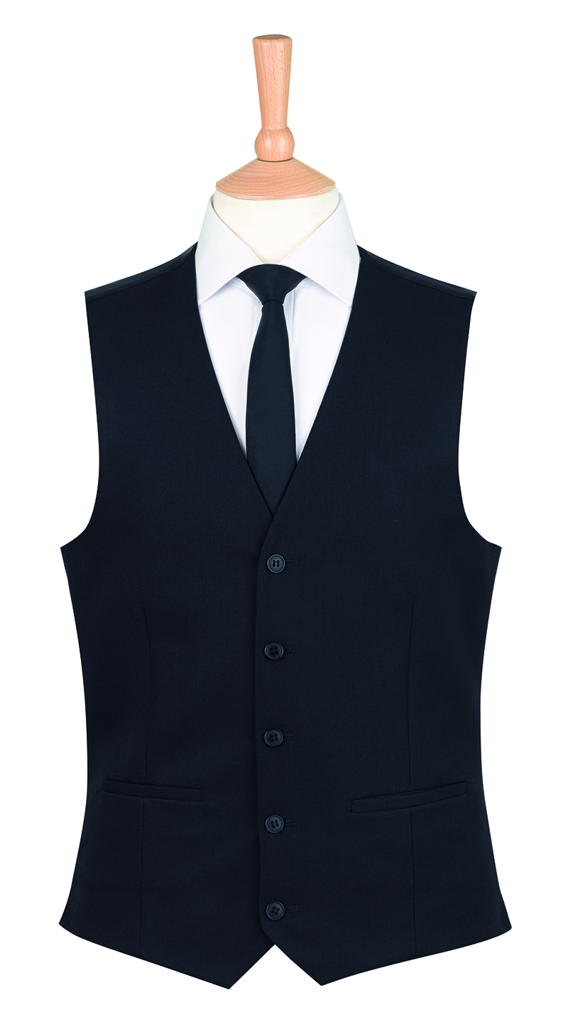 Mens Work Black Waistcoat New Taverner Brook Smart Wear Ladies Mercury Unisex Jackets wOYnZP0x