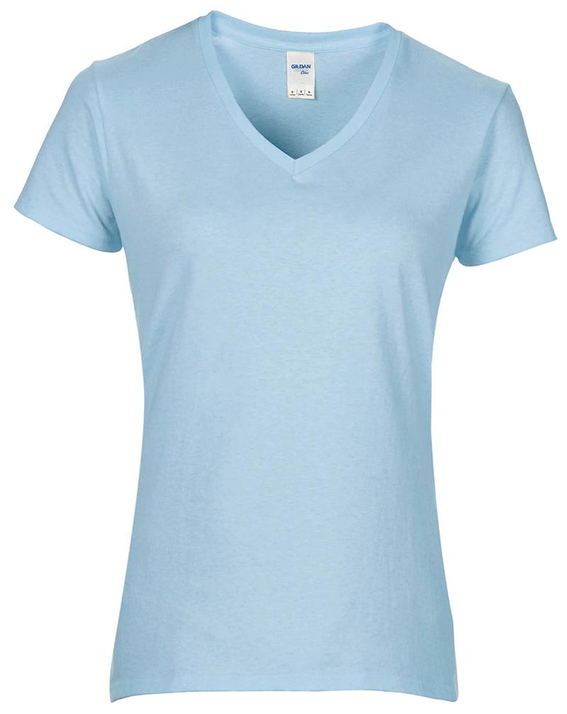 Plain White T Shirts Womens V Neck