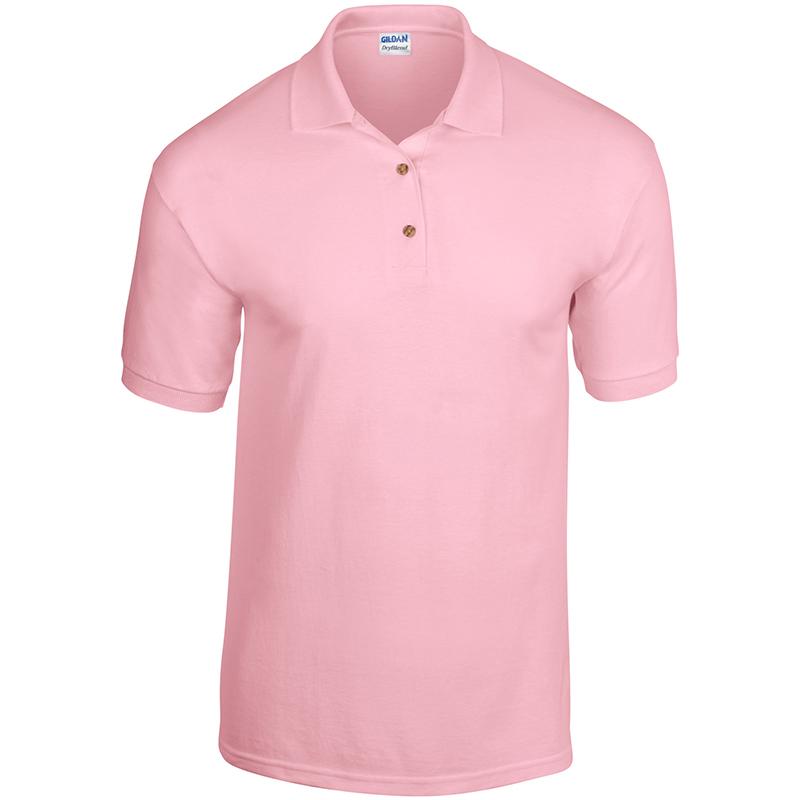 Gildan-hombre-Active-034-Dry-Blend-034-Jersey-Punto-Absorbe-la-Humedad-Polo-Camiseta