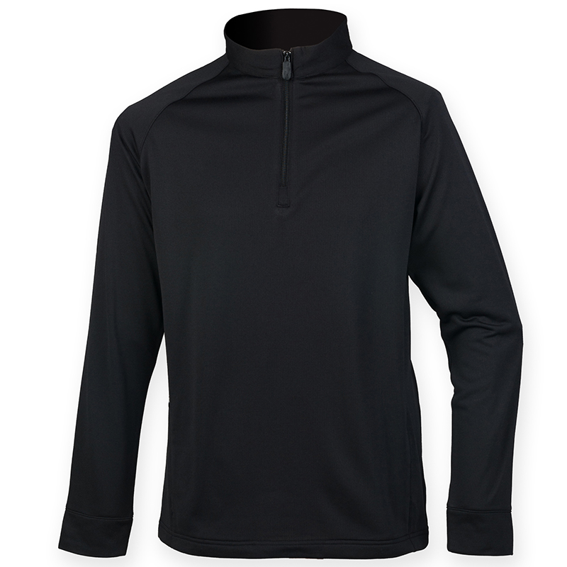 Mèche Léger 4 Finition Pull Hommes Henbury Pull Sweat over 1 Zip Chaud Aq7W1w8U