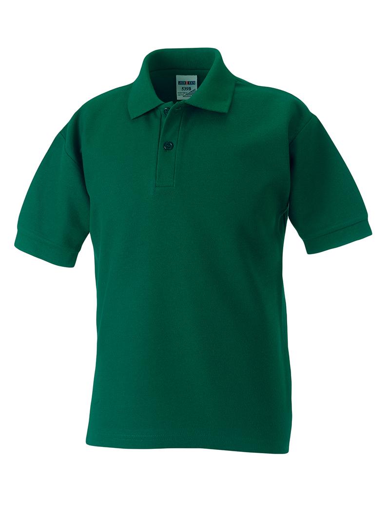 Jerzees-Schoolgear-PE-Liso-infantil-POLO-infantil-manga-corta-camiseta