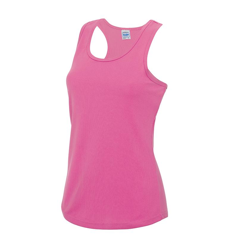AWDis-Mujer-Chaleco-recerback-Neon-Camiseta-sin-mangas-Gimnasio-Deporte-UPF-Proteccion-contra-el-sol