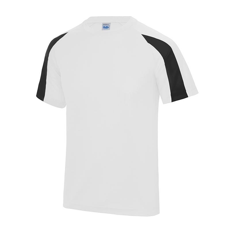 Awdis kids contrast cool sports t shirt raglan sleeves for Design t shirt sport