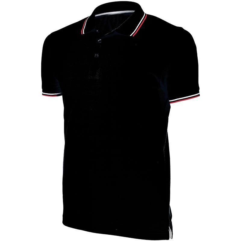 Kariban-KB250-hommes-Contraste-manches-courtes-Polo-sport-Vetement-T-shirt-haut