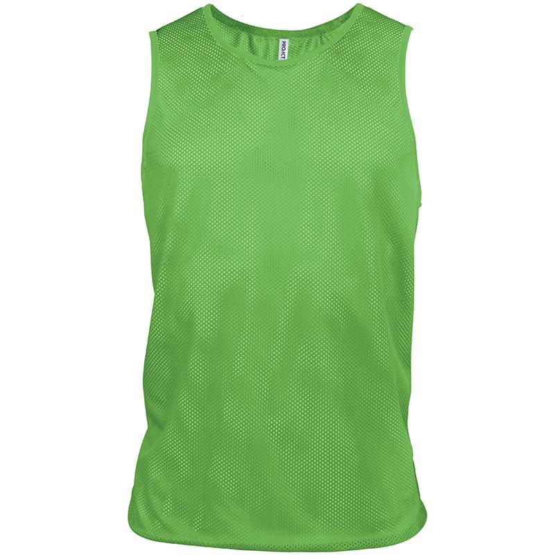Kariban-PA043-Hommes-T-shirt-clair-maille-sport-vetement-Bavoir-100-polyester