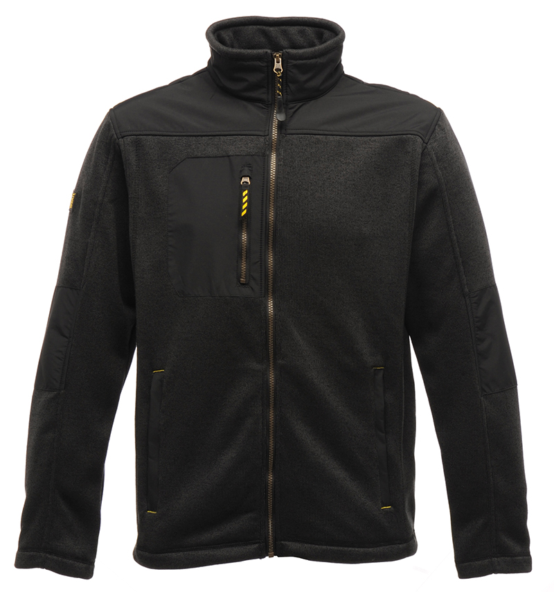 Regatta-Mens-Full-Zip-Hardwearing-Warm-Tempered-Fleece-Jacket-Workwear-Coat-New