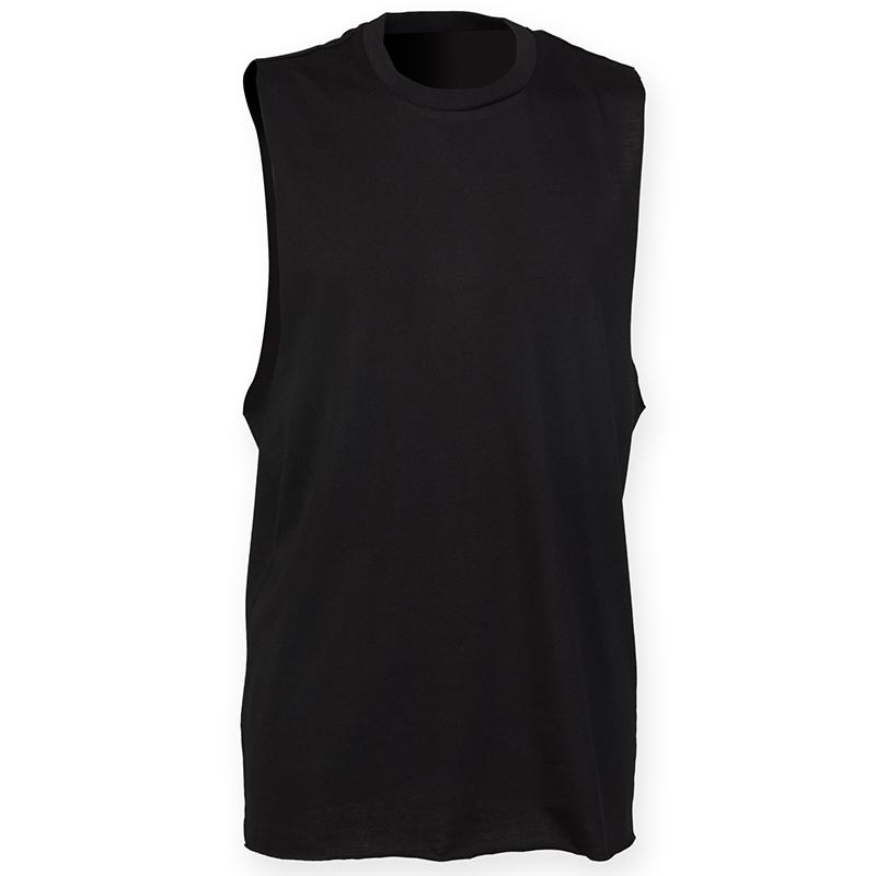 SF-SF232-Men-High-Neck-Slash-Armhole-Muscle-Bodybuilding-Gym-Fitness-Sports-Vest