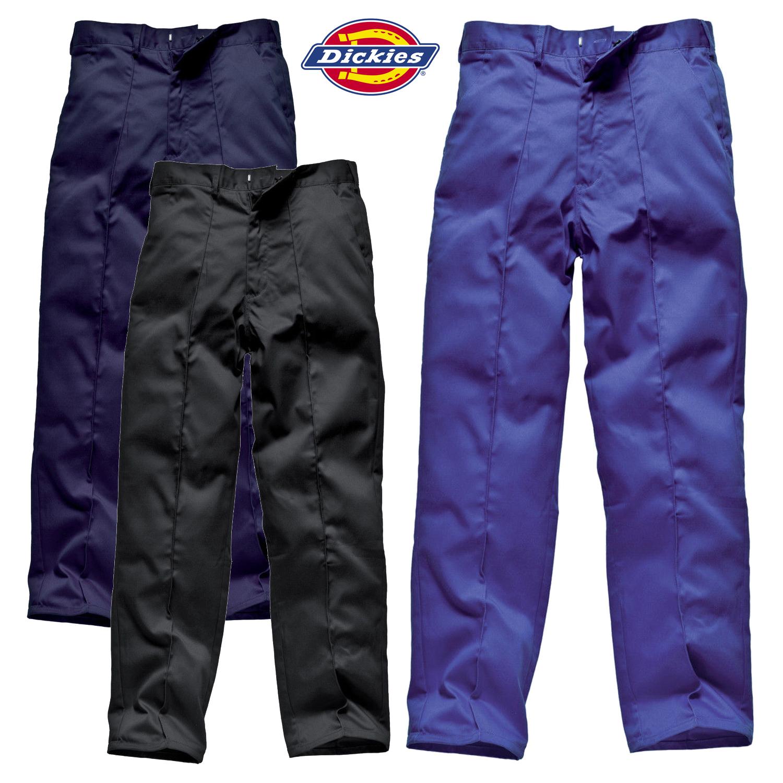 da1e17aee Détails sur Dickies Redhawk Vêtement de Travail Pantalon Poches Durable  Résistant Tailles