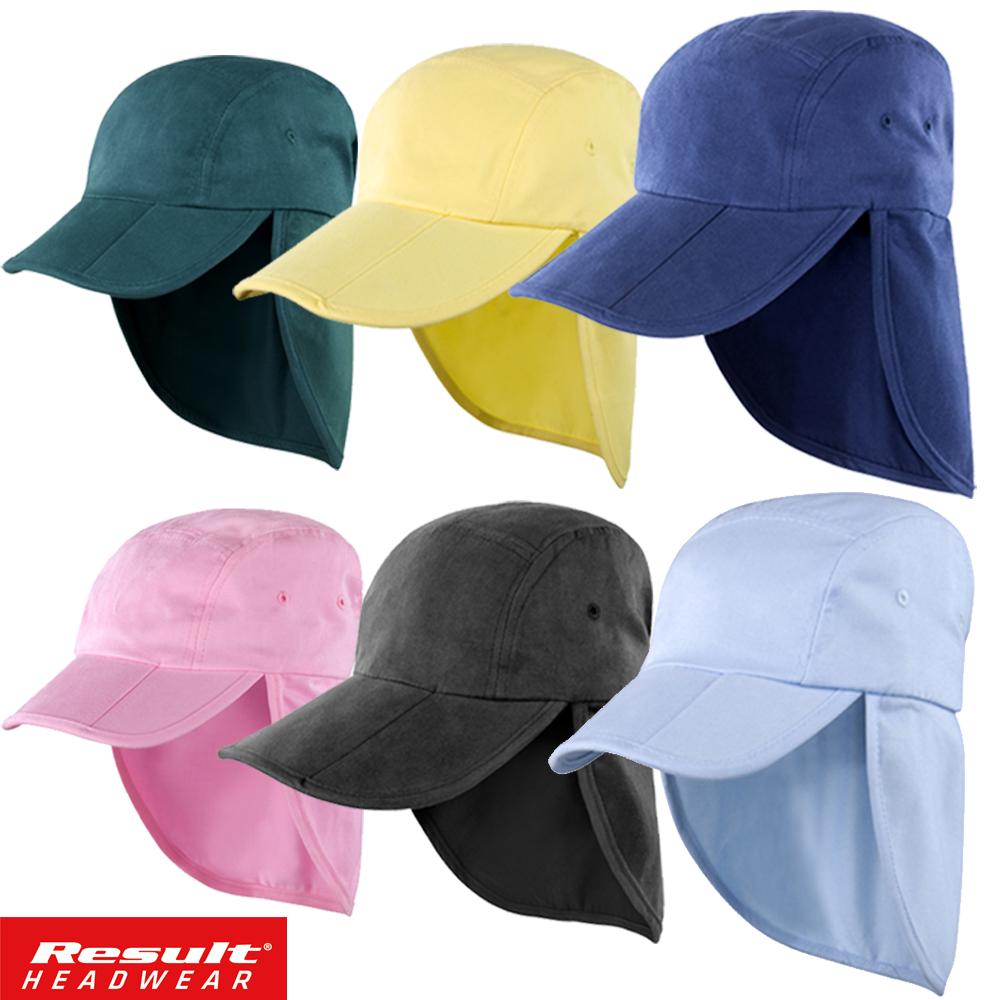 de4ffb23122 Details about Result LEGIONNAIRE HAT CAP SUN PROTECTION NECK FLAP EAR COVER  LONG HAT FOLD UP