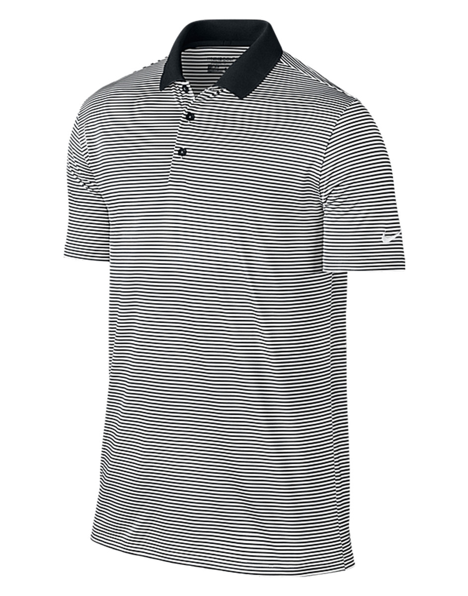 38a076e31 Sentinel NIKE MEN'S VICTORY POLO SHIRT STRIPES DRI FIT SMART COLLAR GOLF  TENNINS STYLE