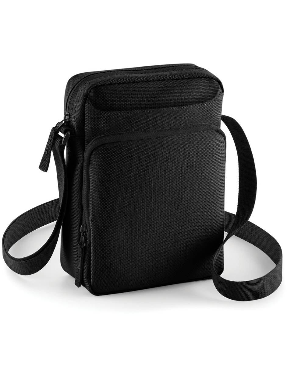 1f485a2888e3 Details about BAGBASE SMALL CROSS BODY BAG MONEY TRAVEL PASSPORT MINI IPAD  TABLET LONG STRAP
