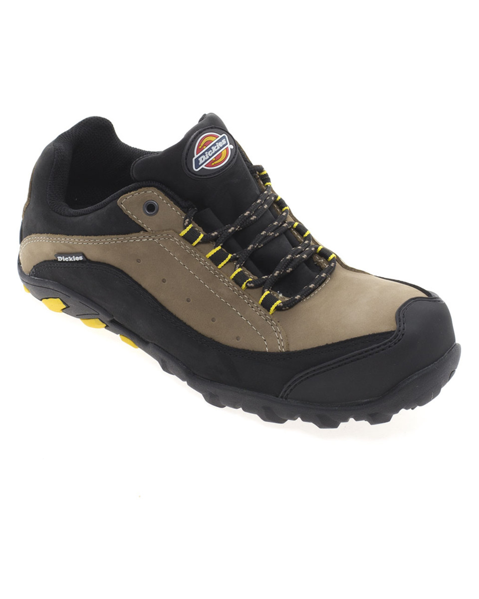 Dickies Faxon Trainer FC9513 Leather Lightweight Rubber Outsole Shoes Leather FC9513 Footwear b3f2e3