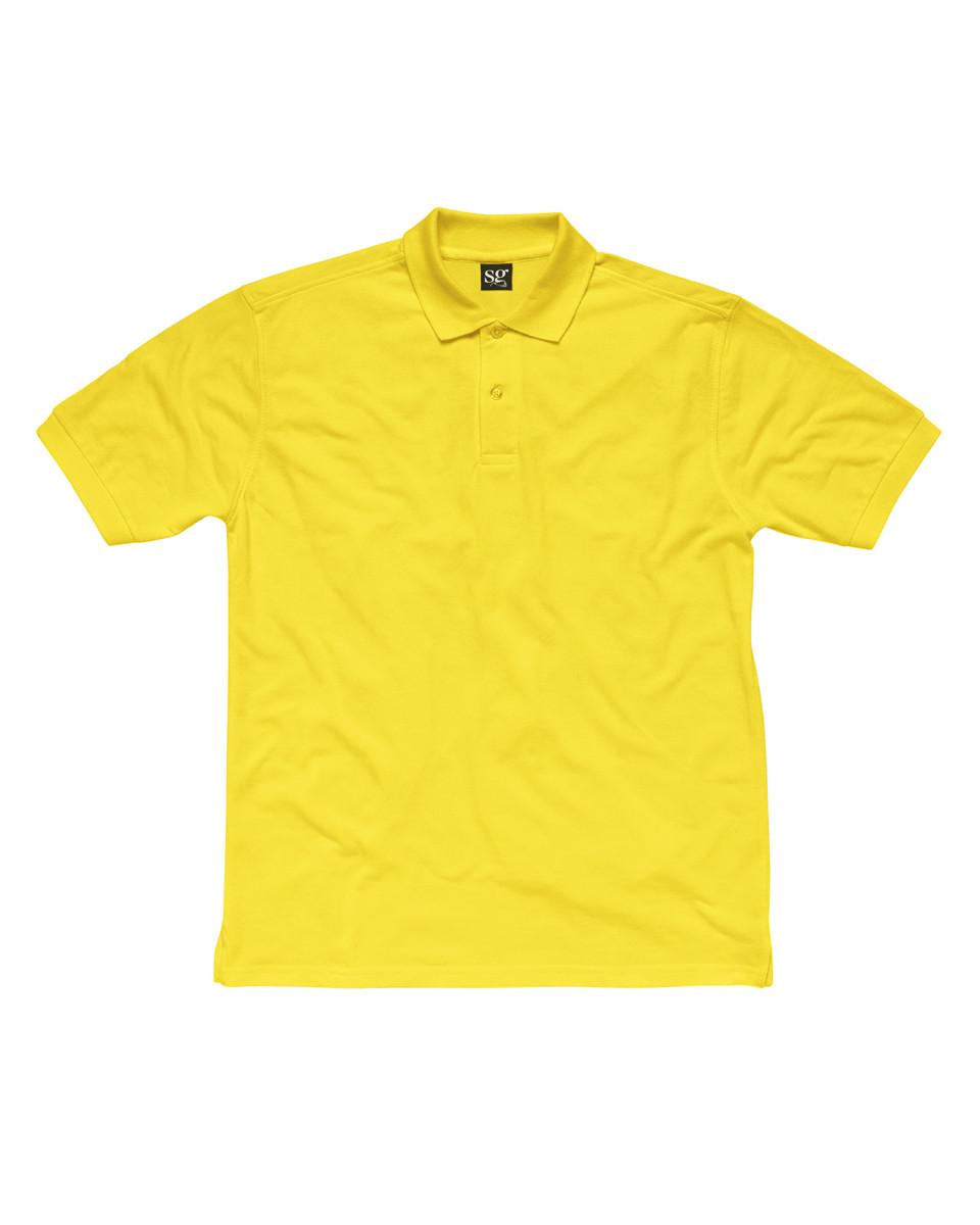 SG-Children-039-s-Polo-Shirt-100-Coton-Doux-Pique-Uni-Couleurs-Garcons-Filles-Tailles