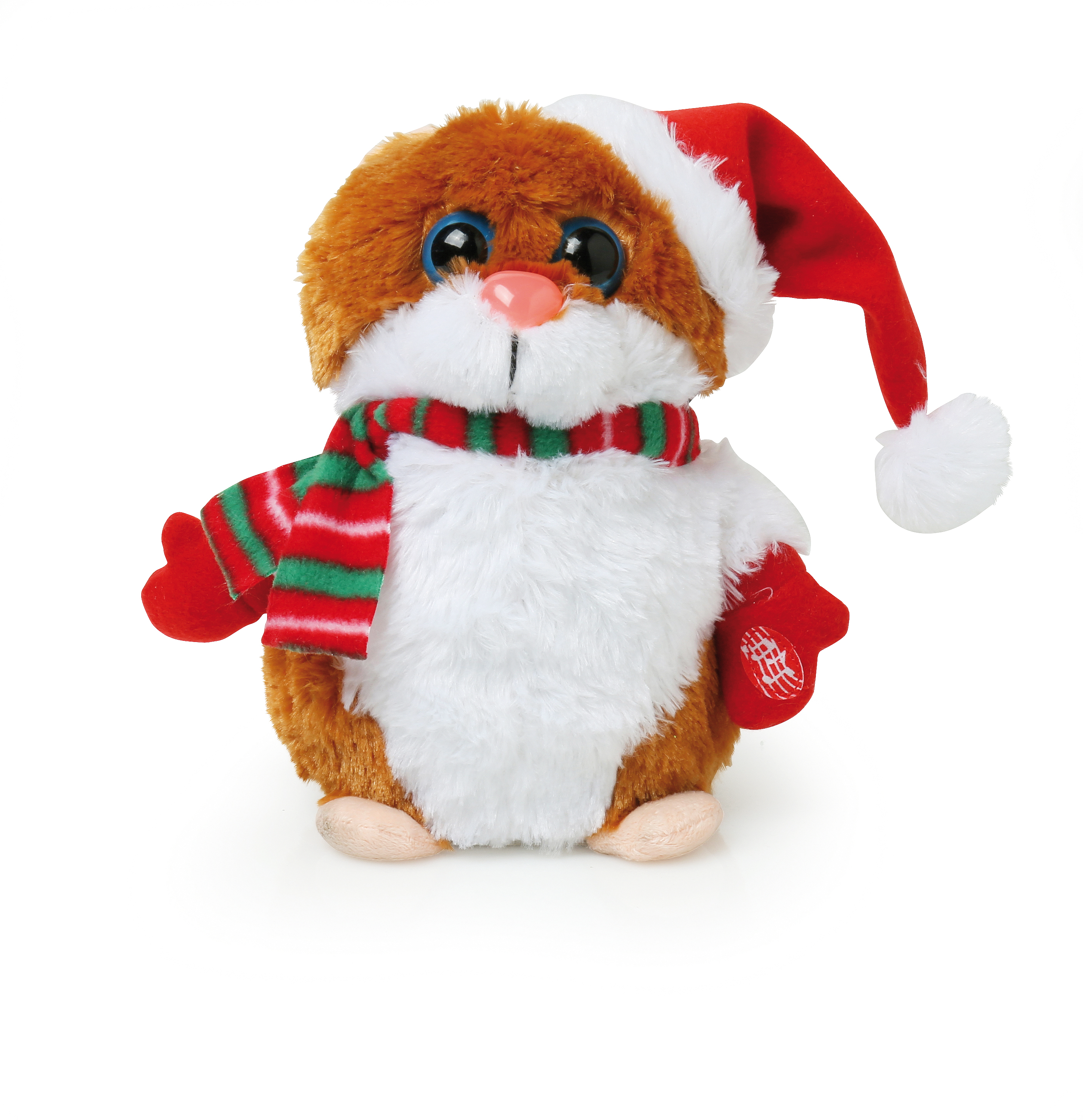 Animated hamster singing it s your birthday christmas toy