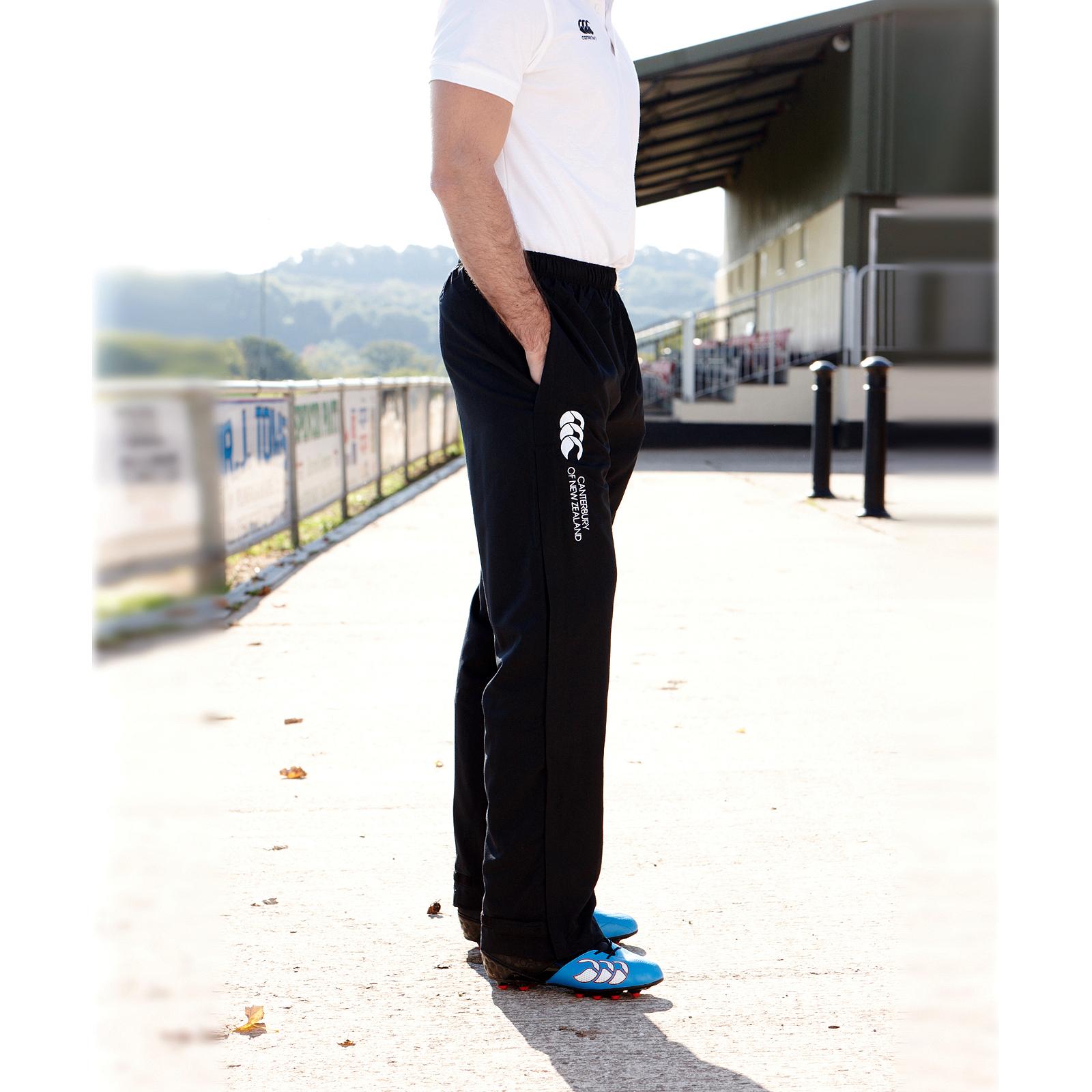 Canterbury Men Team Track Pants Bottoms Football Sports Jogging Training Trouser