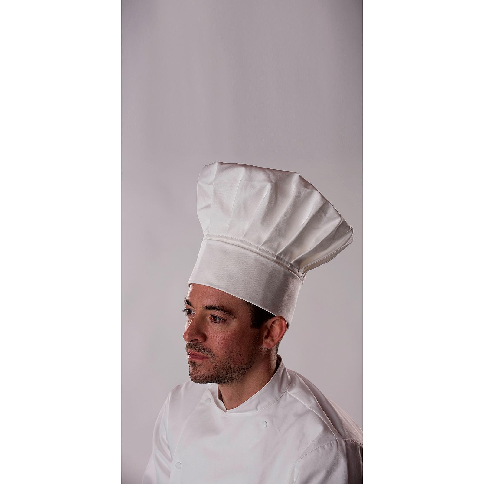 SENTINEL Cappello di alta qualità originale cucina tradizionale Chefwear  Cap bianco uomini di Chef alto 56e3acc9595f