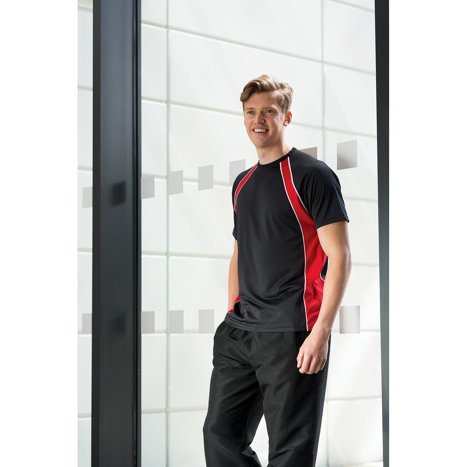 Tombo Sleeveless T-Shirt Mens Gym Active Wear Slim Shaped Fit Tee Tshirts Tops