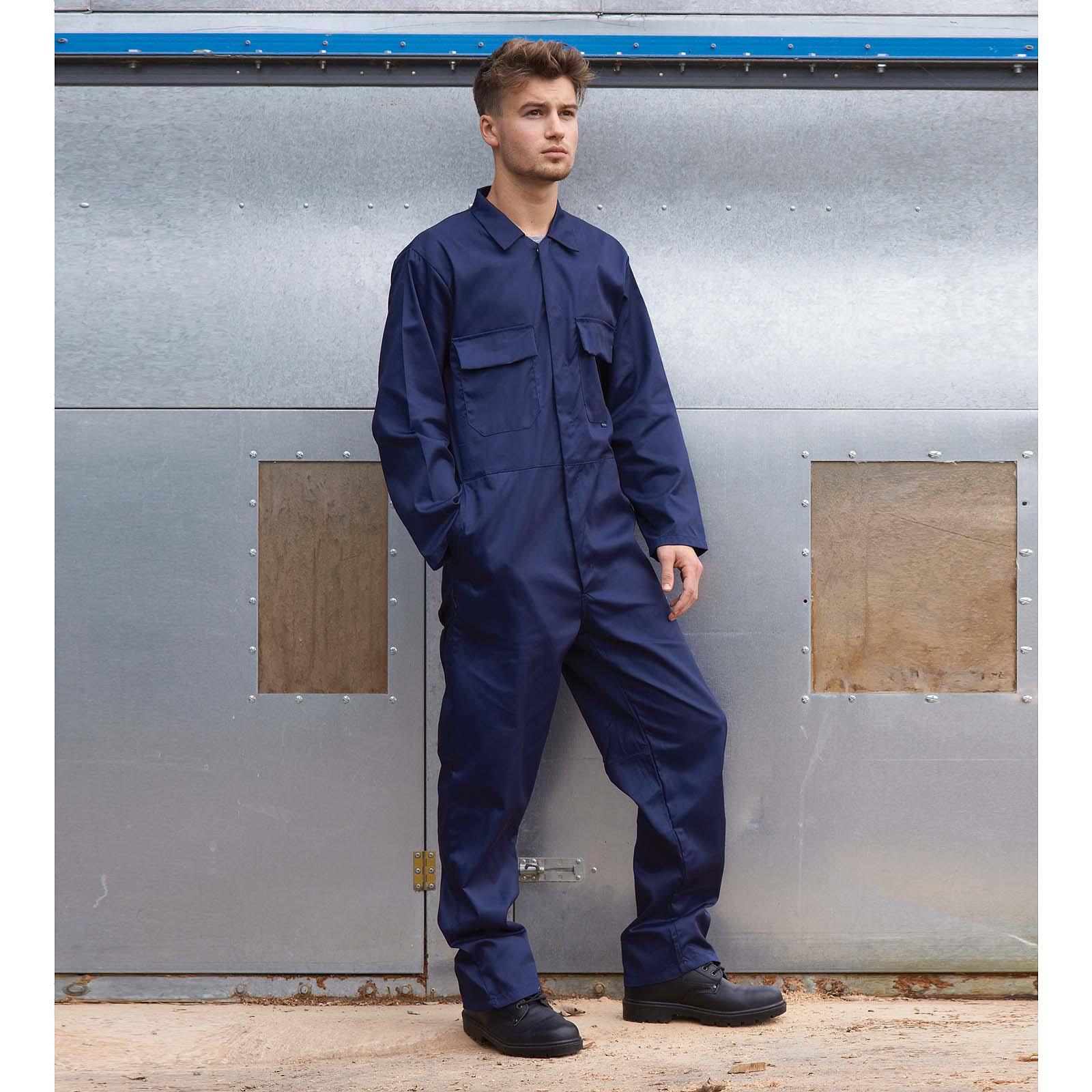SENTINELLE Portwest Euro travail combinaison travail porter des vestes de  polyester coton taille élastique marine Mens d0385f71226