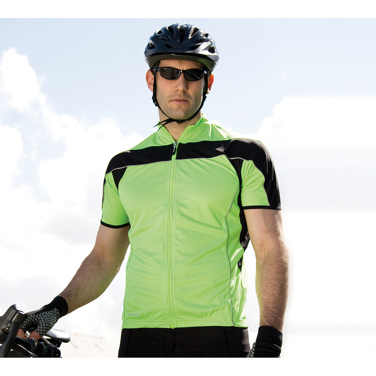 Spiro Hommes/'s Bikewear à manches longues performance-Top de sport-taille S à 2XL