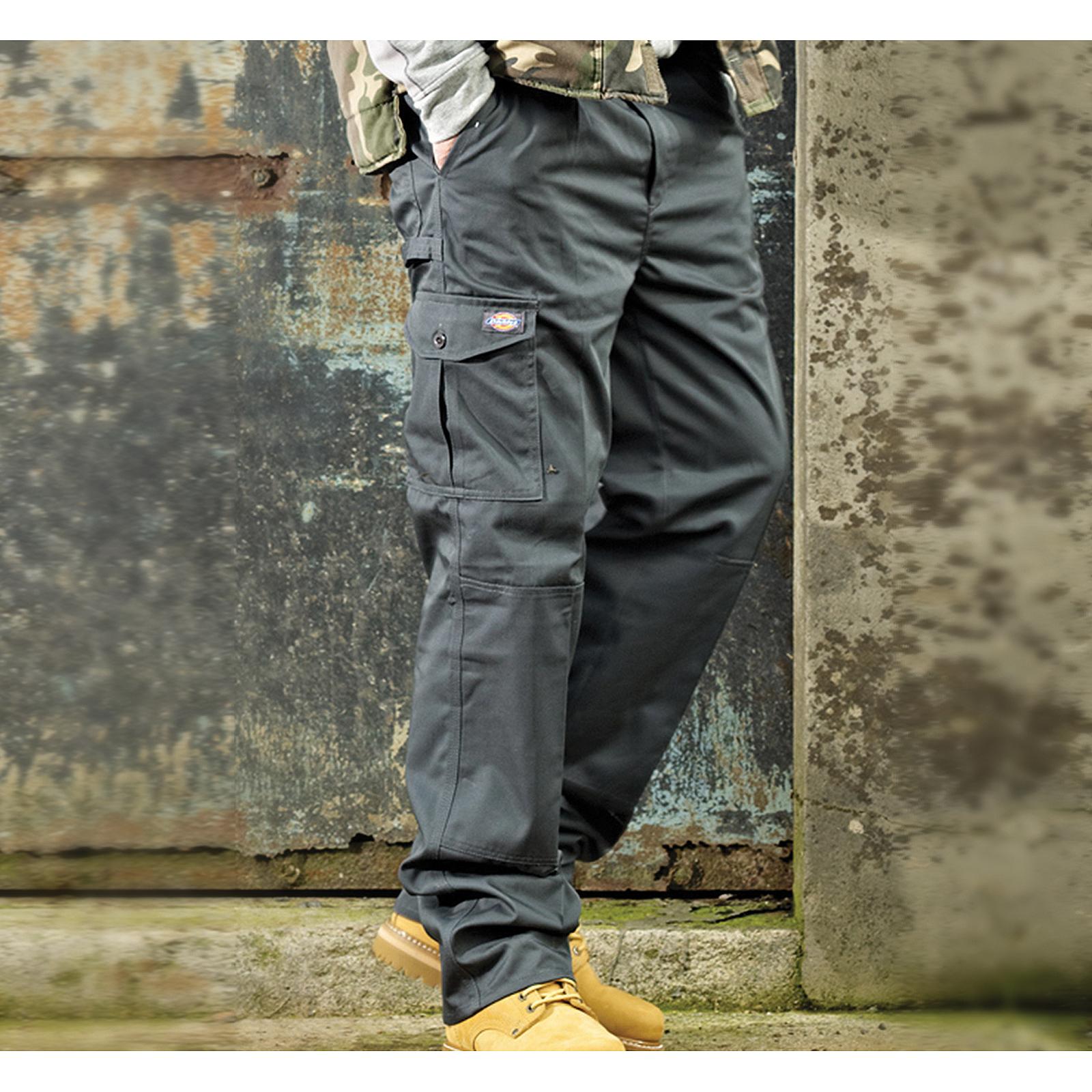 cca7bcdde7 Details about Dickies Redhawk Super Uniform Cargo Combat Work Trousers  Men's Durable Workwear