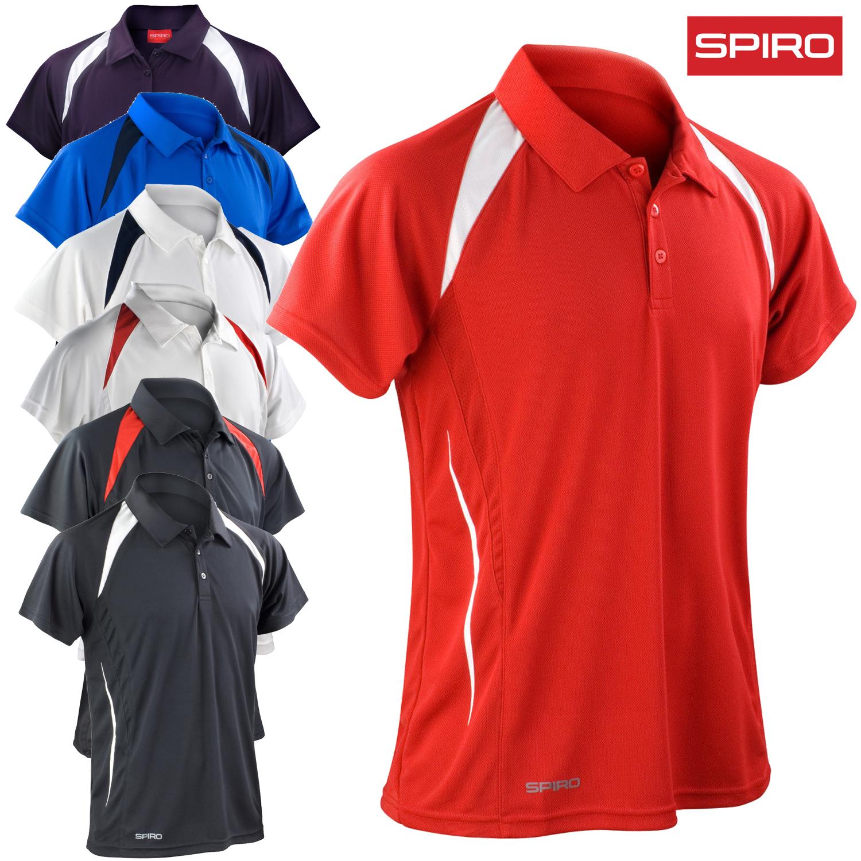 Sentinel Spiro Men S Polo Shirt Cool Dry Team Sport Tennis Golf Lightweight Comfort 4xl