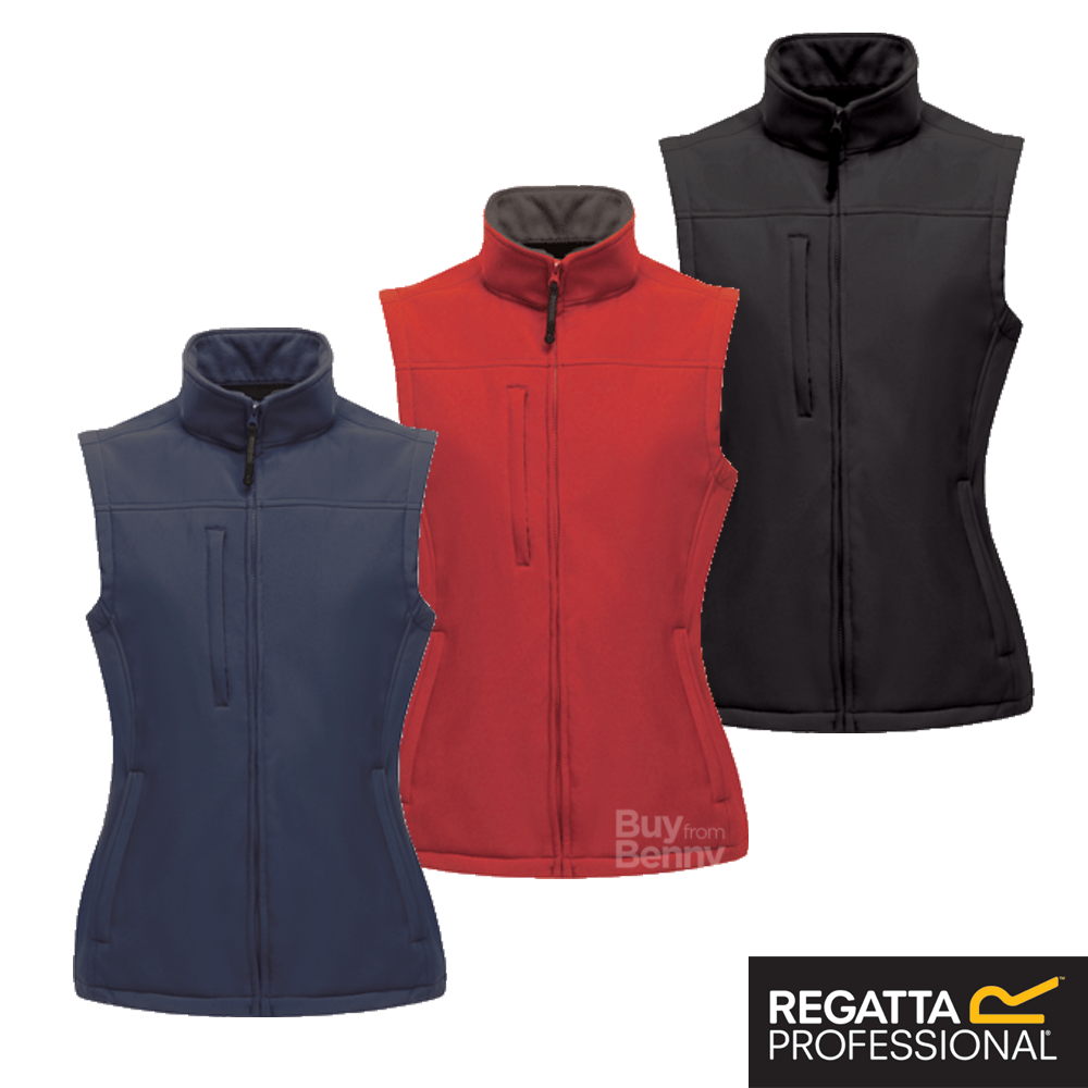 Regatta Mens Classic Softshell Bodywarmer Sleeveless Outdoor Gilet