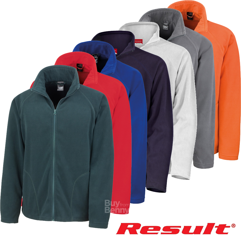 Result FLEECE JACKET SOFT WARM LIGHT STRETCH FIT OUTDOOR ZIP XS-3XL UNISEX OFFER