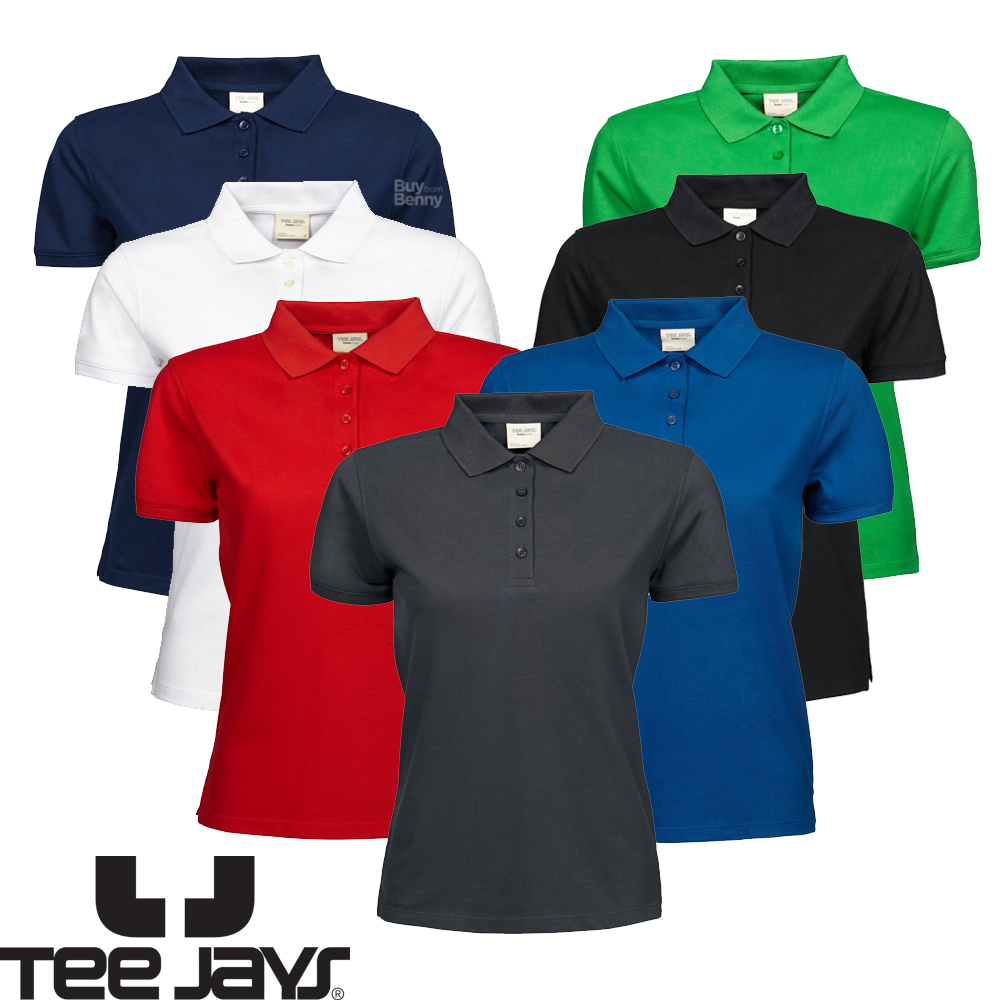 Uneek Poloshirt Womens Ladies Smart Workwear Outdoor Top UC106 Darker Colours